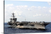 USS Carl Vinson underway in the Arabian Sea