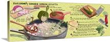 Zucchini and Summer Squash Risotto