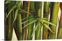 Bamboo on Beige II
