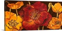 Dazzling Poppies I