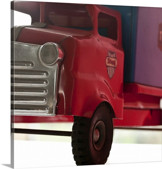 Red Truck Photo Canvas Print | Great Big Canvas