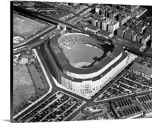 New York: Yankee Stadium, Aerial view