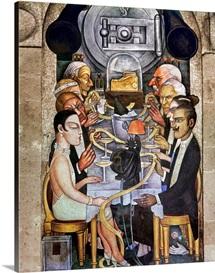 Rivera: Banquet, 1928