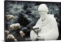 Saint in the Snow