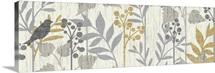 Garden Leaves Panel I