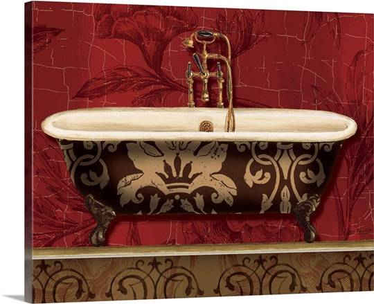 Royal Red Bath I