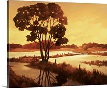Evening Water II