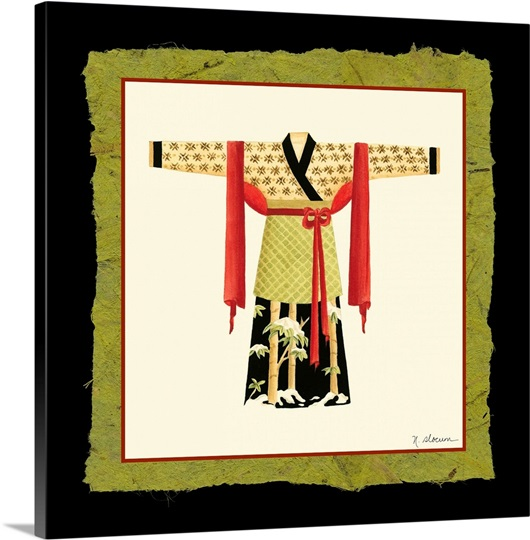 Kimono Ii Photo Canvas Print Great Big Canvas