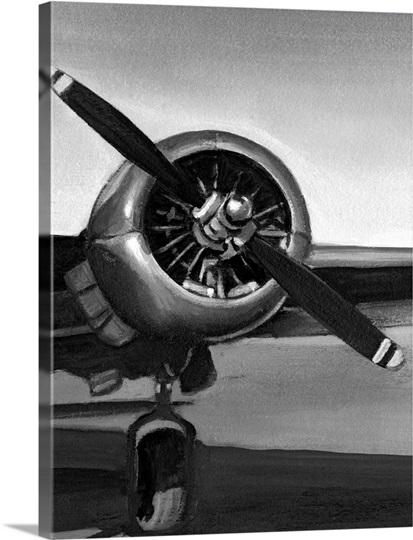 Vintage Flight Iii Photo Canvas Print Great Big Canvas