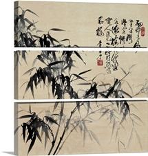 Birdlike Bamboo Leaves