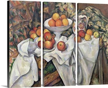 Apples and Oranges, 1895 1900 (oil on canvas)