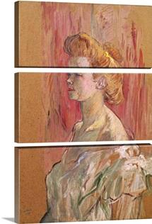 The Sphinx, 1898 (oil on cardboard)