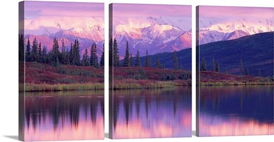 Alaska Range Denali National Park AK