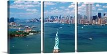 New York Harbor Statue of Liberty New York NY