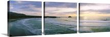 Sunset over the ocean, Big Sur, California