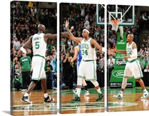 Kevin Garnett, Paul Pierce, Ray Allen