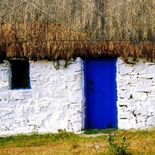 Traditional Cottages, County Galway, Ireland