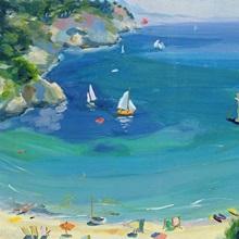 Cala Galdana, Minorca, 1979 (oil on canvas)