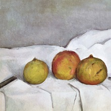 Fruit on a Cloth, c.1890 (oil on canvas)