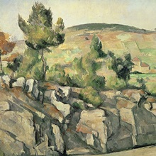 Hillside in Provence, c.1886 90 (oil on canvas)