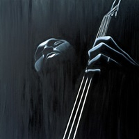 In a Groove (oil on canvas)