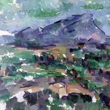 Montagne Sainte Victoire, 1904 06 (oil on canvas)