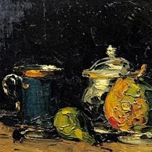 Still Life, c.1865 (oil on canvas)