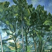 The Aqueduct (Montagne Sainte Victoire seen through Trees), c.1885 87 (oil on canvas)