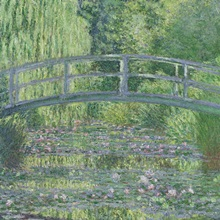 The Waterlily Pond: Green Harmony, 1899