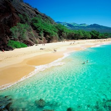 Hawaii, Maui island, Big Beach