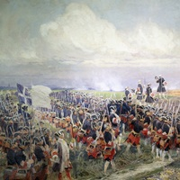 Battle of Fontenoy, 1745, Battle of Fontenoy, By Edouard Detaille, c. 1870-1912