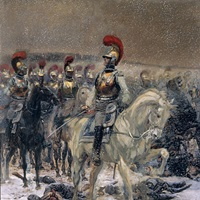 Before the Charge, October 18, 1812, By Edouard Detaille, c. 1870-1912