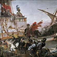 Naval Battle of Lepanto. 1887. Juan luna y Novicio