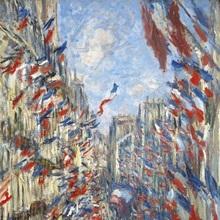 The Rue Montorgueil, Paris, Celebration of June 30.