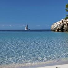 Cala Escorxada is beach in southern part of Menorca (Baleares, Spain).