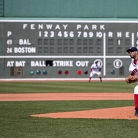 David Price of the Boston Red Sox pitches against the Baltimore Orioles