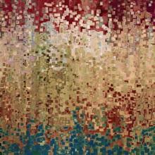 Last Curtain.Isaiah 40:22. VerseVisions Christian Modern Art