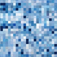 Tile Art 1 2016, Blue and White Painted Tiles