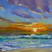 Malibu Beach Sunset