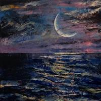 Moon - Seascape