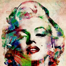Marylin Urban Watercolor