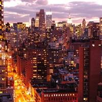 Manhattan at twilight