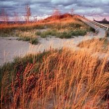 Sunset at Sleeping Bear Dunes National Lakeshore, Michigan