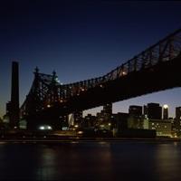 Bridge across a river, Queensboro Bridge, East River, Manhattan, New York City, New York State