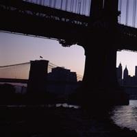 Bridge, Manhattan Bridge, Lower Manhattan, New York City, New York State