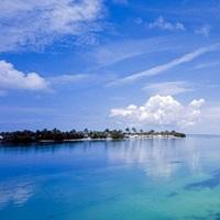 Clouds over the ocean, Florida Keys, Florida
