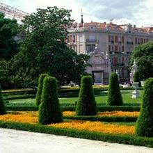 Retiro Park Madrid Spain