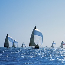 Sailboat Race Key West FL