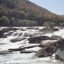 Sandstone Falls New River Gorge WV