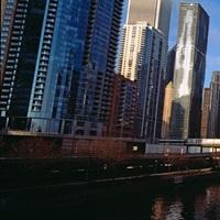 Skyscraper in a city, Trump Tower, Chicago, Cook County, Illinois